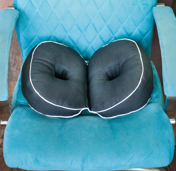 """Мягкая подушка для сидения для улучшения осанки """"Booty Pillow"""""""