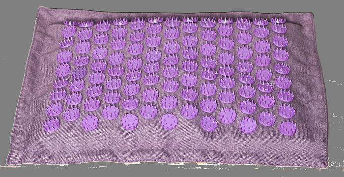 """Акупунктурный коврик """"Ортек"""". Набор коврик + подушка: аппликатор Кузнецова."""